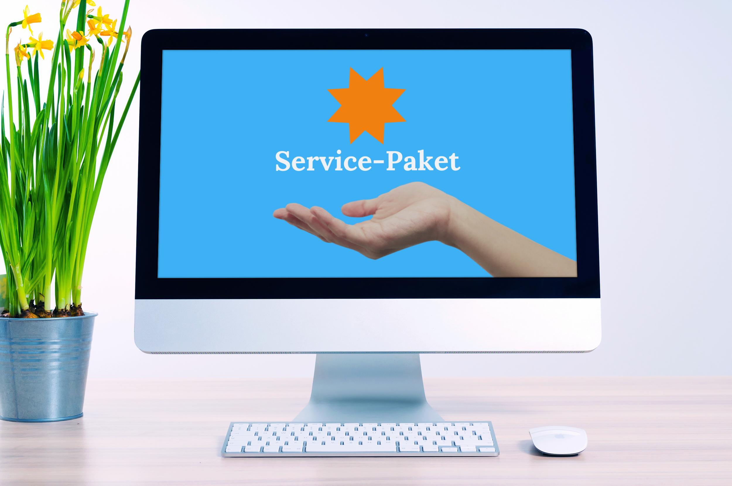 Netzwerk-Service-Paket mit 5 bis 9 Geräte für 12 Monate