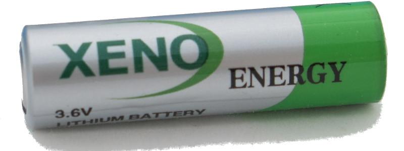 Lithium Batterie Xeno, AA (Mignon), 3.6V, 2400 mAh