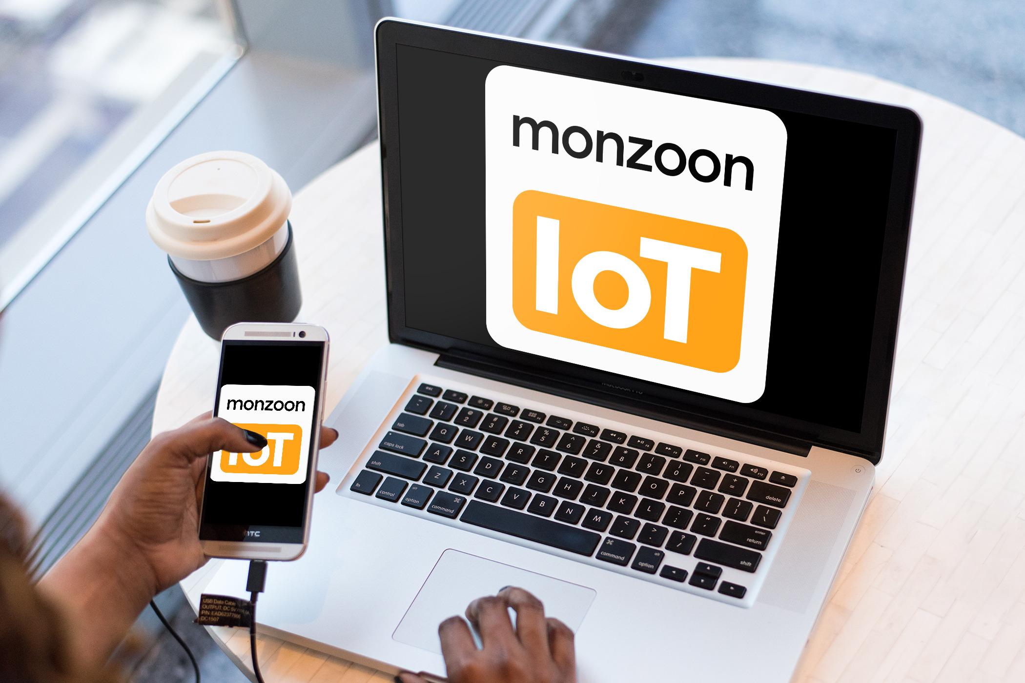 IoT Sensordaten-Ansicht in APP & WEB für 12 Monate